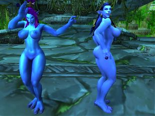 Warcraft Troll Girls