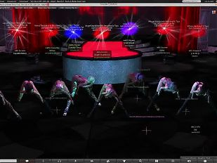 Bad Girl Metal and Rock Stripclub dancing in Second Life