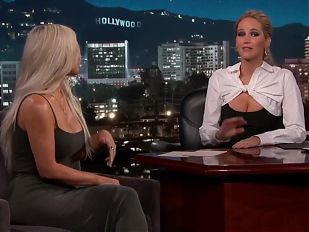 Jennifer Lawrence has revelation talking to Kim Kardashian