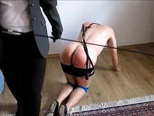 Whipping by riding mistress
