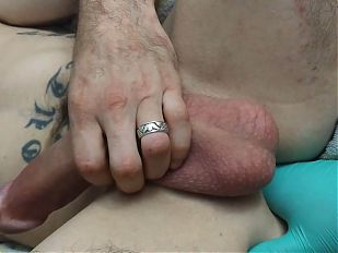First time three fingers anal