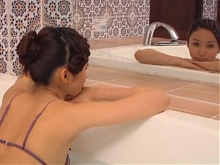 RISA Falling Away - Red Purple Bathing (Non-Nude)