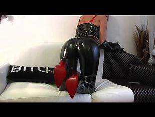 Fetish Liza - Cum On My red Soles