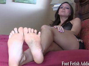I love that you have a foot fetish