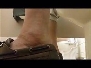 Men's Room Understall Fun