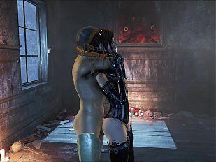 Fallout 4 Elie good Latex Fuck