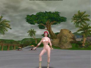 3d aion sexy spiritmaster redhead