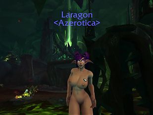 Night Elf Bimbo Dancing in Argus