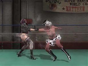 Motoko Kusanagi vs Ciri Dead or Alive 5 Last Round