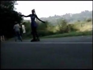rubber skating