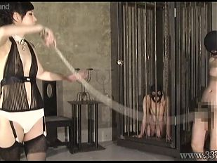 Japanese femdom Hijiri training a pervert man to do tricks