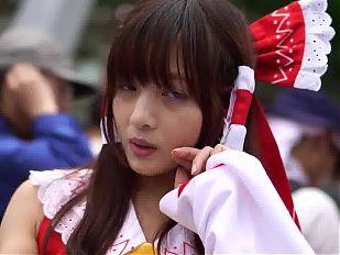 Reimu Hakurei cosplay 001