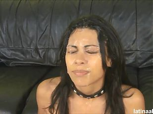 Extreme deep throat and ass fuck for Cassandra Cruz