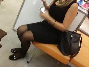 Voyeur Madura sexy