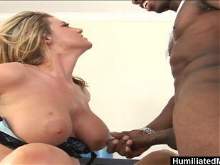 HumiliatedMilfs - Kayla Quinn can't resist a young dude's bi