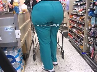Big Booty Green Scrubs