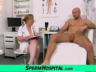 CFNM medical porn with Czech lady Gabina