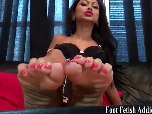 Suck on my sweet little pedicured toes