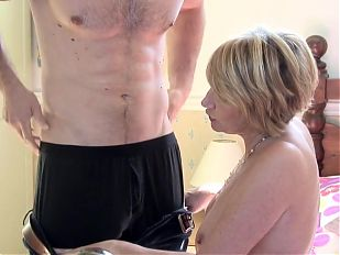 UK mature mom suck and fuck young guy