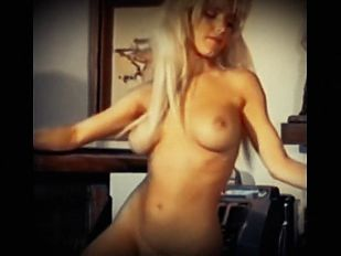 L.A. WOMAN - vintage fit blonde dance striptease