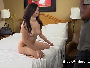Teen Gets Anal and Creampie from Big Black Cock