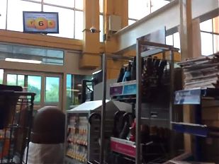 Phat Ebony MILF Bubble VPL (Checkout Line)
