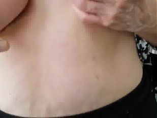 Granny shows off her big soft titties.mp4