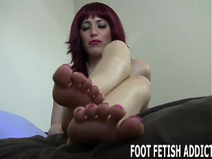 If you beg I might let you pamper my feet