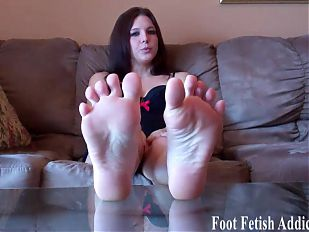 My big sexy size 10 feet are amazing