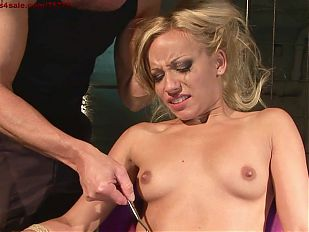 Hot and young slut. My new slave.BDSM movie.