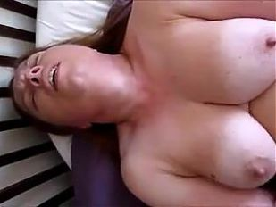 A woman gets an orgasm and screams with pleasure.